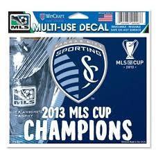 Sporting Kc 2013 Mls Cup Champions Multi Use Ultra Decal By Wincraft Mo Sports Authentics Apparel Gifts