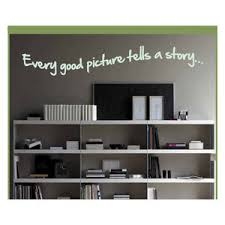 Every Picture Has A Story To Tell Wall Decor Stickers Contemporary Wall Decals By Vinylsay Llc