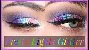 glitter injections rave makeup tutorial