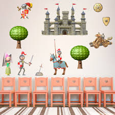 3d Medieval Castle Kit Wall Decal
