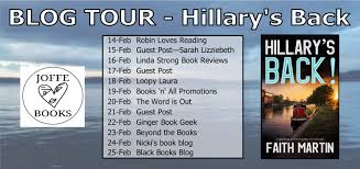 Blog Tour – Hillary's Back (Hillary Greene #18) by Faith Martin #netgalley  #hillarysback #crimefiction @joffebooks @Faith.Martin_nov – Books n All  Promotions