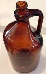 clorox bleach bottle amber glass