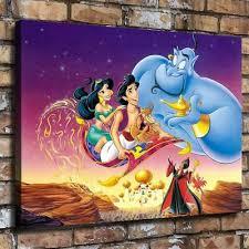 12 X16 Aladdin Jasmine Princess Hd Canvas Prints Painting Home Decor Wall Art Ebay