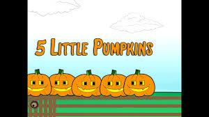 5 Little Pumpkins Sitting On A Gate Children S Song Halloween Lyrics Counting Patty Shukla Youtube