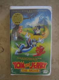 UPC 012232754330 - Tom And Jerry - The Movie (clamshell Vhs, 1993 ...