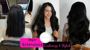 my bellami hair extensions customized