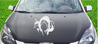 Tuning Fox Hound Windows Indigos Ug Racing 600x599 Mm For Car Orange Sticker For Rear Window Engine Flap Tailgate De7117 Jdm Die Cut Fecsource Com