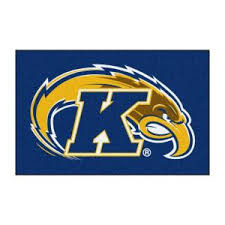 Fanmats Ncaa Kent State University Blue 8 Ft X 5 Ft Indoor Area Rug 20194 The Home Depot