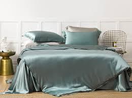 royal blue silk duvet cover