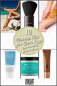 10 makeup tips for your legs you