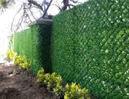 Fences For Privacy Artificial Grass Fence Panel