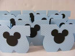 Como Hacer Invitaciones De Mickey Mouse Para Baby Shower