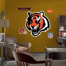Cincinnati Bengals Team Logo Fathead Wall Sticker