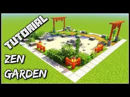 build a zen garden minecraft tutorial