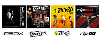 p90x or insanity home work out dvds for