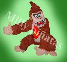 Pinata Donkey Kong Pinata Milly Pinatas Exclusivas Donkey Kong