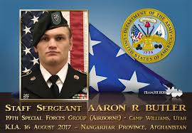 Honoring US Army SSG Aaron Butler ~... - Freedom Isn't Free | Facebook