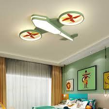 Lican Cartoon Led Chandelier For Bedroom Boys Hanging Lamp Kids Pendant Chandelier Airplane Hanglamp Children Lighting Fixtures Chandeliers Aliexpress