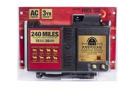 American Farm Works Black Diamond Series 240 Miles Electric Fence Controller 360 00 Picclick