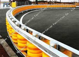 Foam Eva Vehicle Safety Barrier Roller Crash Barrier Fencing Highway Protect