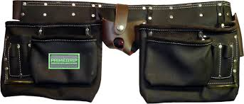 pocket oil tanned leather pouch