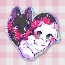 Jiji Love Sticker Jenni Illustrations Online Store Powered By Storenvy