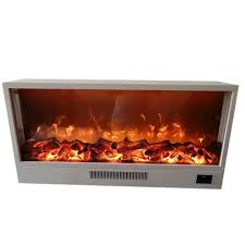 led flame insert electric fireplace