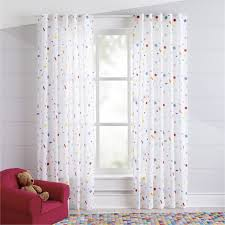 Free Shipping Shop Colorful Confetti 63 Curtain Throw A Party For Your Windows With Our Colorful Confetti Curtain Kids Curtains Playroom Curtains Curtains