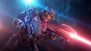 master chief halo spartan laser