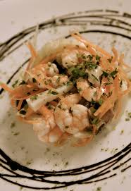 Crispy cruncy sefood salad