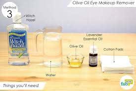 diy homemade makeup remover recipes