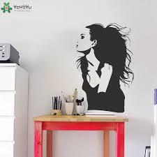 Movie Star Angelina Jolie Wall Stickers Famous Portrait Vinyl Wall Decal Actress Girls Beauty Salon Decor Art Removable Diy Cheap Wall Murals And Decals Cheap Wall Sticker From Joystickers 11 67 Dhgate Com