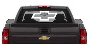 Amazon Com Chevy Large 24 X8 Rear Window Decal Everything Else