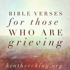 Bible Verses for those who are Grieving – Heather C. King – Room ...
