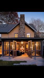 chemine porche maison design