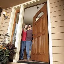 how to install a door family handyman