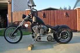 custom chopper revtech vtwin motor