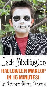 15 minute jack skellington