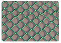 Pvc Coated Chain Link Fence Vinyl Coated Chain Link Fence Green Blue Beige And Custom Colors U A E Australia