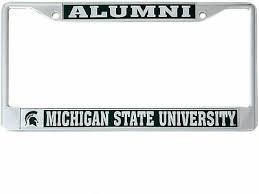 Michigan State University Msu Spartans License Frame Alumni Ebay