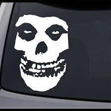 Jcm Custom 3 Pack Misfits Fiend Skull Permanent Vinyl Decal Sticker Ebay