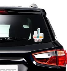 Rocket Science Graphic Car Decal Personalized Youcustomizeit