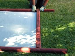 How To Make A Decorative Fabric Fence How Tos Diy