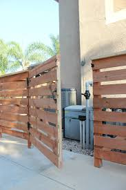 Hide Pool Equipment With Diy Fence Gate Fence Around Pool Pool Equipment Pool Equipment Cover