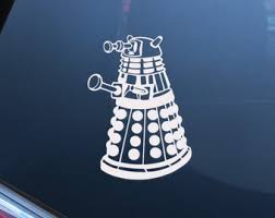 Dalek Car Decal Etsy