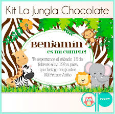 Invitacion De Animalitos Imagui Baby Showers De Safari