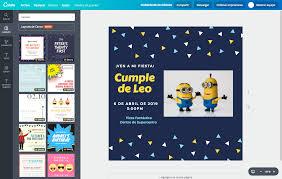 Crea Invitaciones De Minions Online Gratis Canva