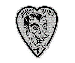 Satanic Panic Prismatic Vinyl Bumper Sticker Etsy