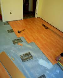 the substrate under the laminate 56