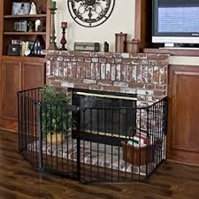Best Choice Products Baby Safety Fence Hearth Gate Bbq Fire Gate Fireplace Metal Plastic Amazon Ca Baby